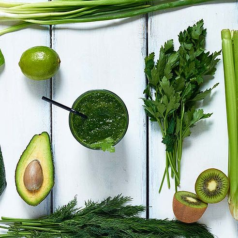 Parsley and green foods